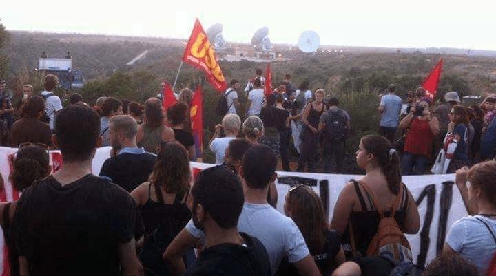 Manifestazione no muos