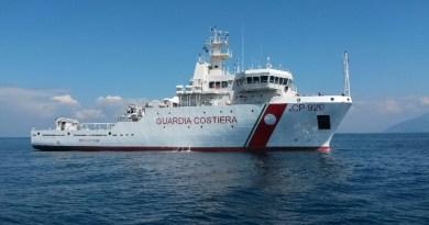 Nave Gregoretti, Guardia Costiera