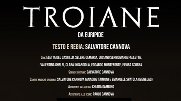 Troiane, Dionisiache di Segesta 2019