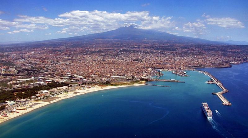 L'Etna e Catania