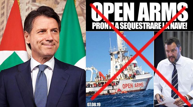 Conte su Salvini e Open Arms