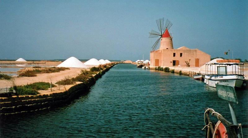 Marsala, imbarcadero per Mozia