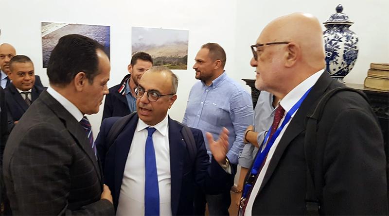 Ministro della Pesca Libia, Nino Carlino, direttore Distretto pesca e crescita blu, Giovanni Basciano, direttore Centro di competenza distrettuale