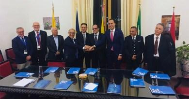 Ministro Pesca Libia e Sottosegretario Esteri italiano