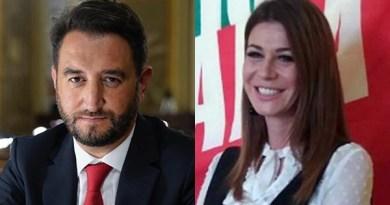 Giancarlo Cancelleri e Matilde Siracusano