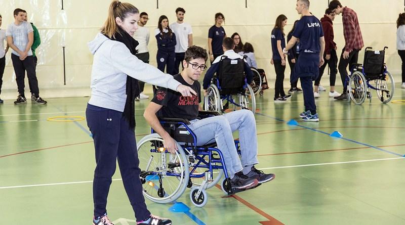 studenti disabili palestra scuola