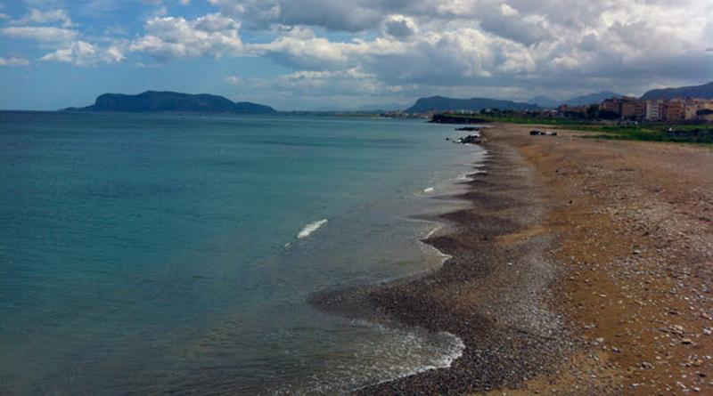 Spiaggia di Romagnolo, Costa Sud Palermo