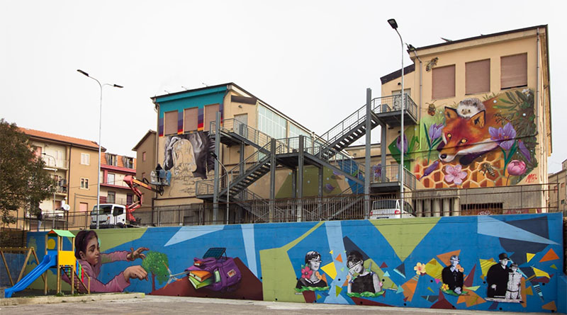 murales streetart Calascibetta