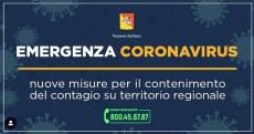 Emergenza coronavirus regione siciliana