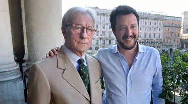 Vittorio Feltri e Matteo Salvini
