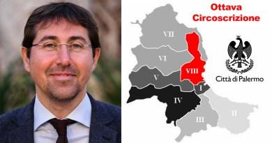 Marco Frasca Polara, presidente ottava circoscrizione Città di Palermo