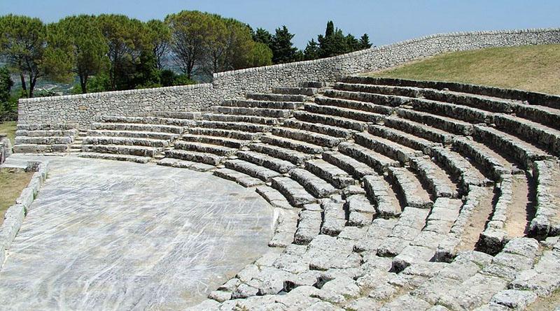 Teatro greco Akrai, Palazzolo Acreide, Parco archeologico Siracusa