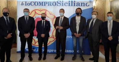 """Governo Musumeci firma accordo con """"Io Compro Siciliano"""" per valorizzare le eccellenze dell'Isola attraverso il marchio QS, Qualità Sicura Garantita"""