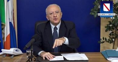 """Campania zona rossa: """"Bene decreto ministro Salute, presidente Regione e sindaco Napoli preferivano solo insultarsi"""""""