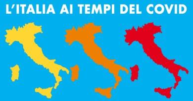 La nuova mappa delle zone Covid in Italia dopo il 29 novembre