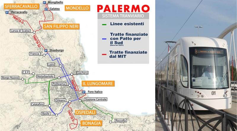 MIT finanzia nuove linee tram Palermo