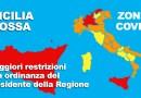 Covid, nuovo Dcpm Conte. Sicilia rossa e con ulteriori restrizioni di Musumeci, Speranza cambia zona a quasi tutte le regioni
