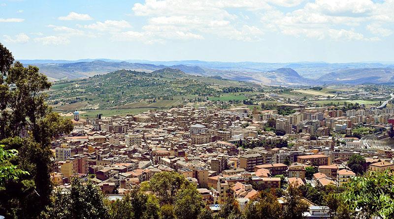 Caltanissetta, panorama della città