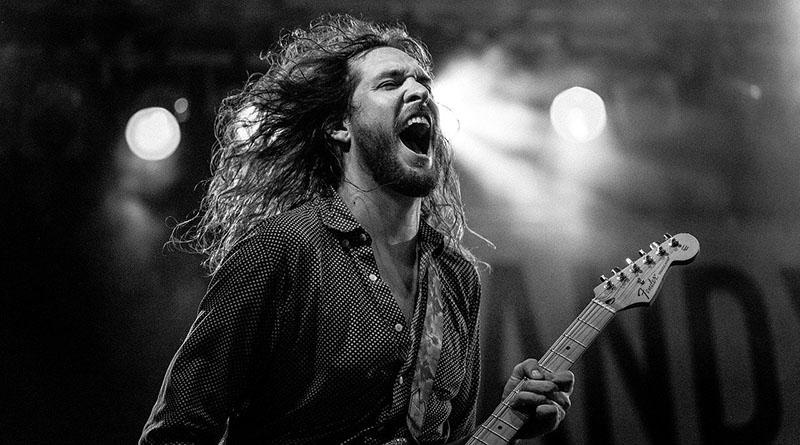 musicista cantante rock