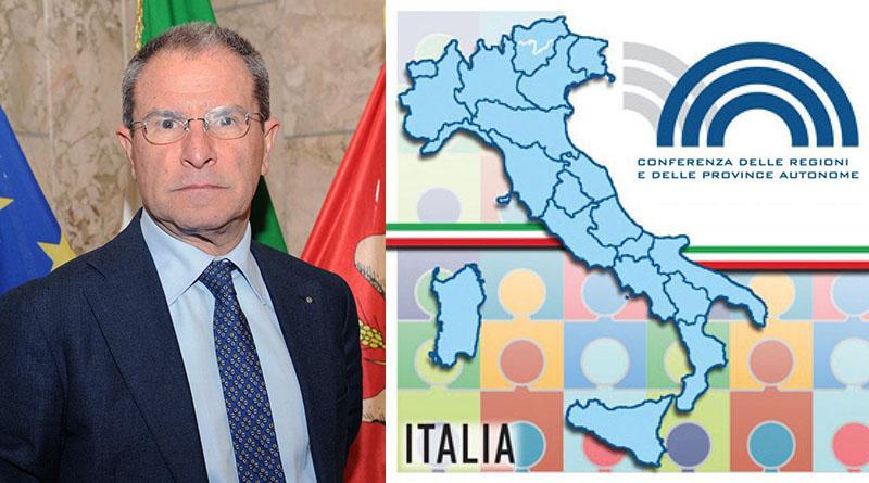 Antonio Scavone - Conferenza Regioni