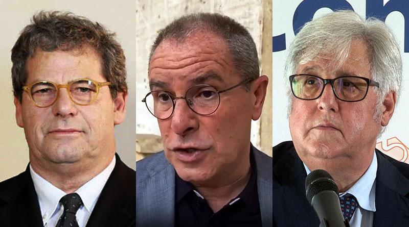 Gianfranco Micciché, Antonio Scavone, Michele Cappadona