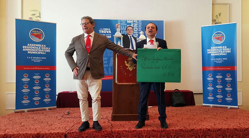 Gianfranco Micciché e Cateno De Luca