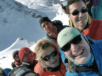 Gruppo in cima - photo@Stefano Battaglia