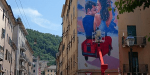 murales certosa ponte morandi genova
