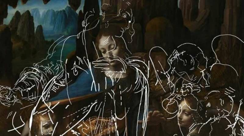 I disegni di Leonardo nella prima versione della Vergine delle Rocce