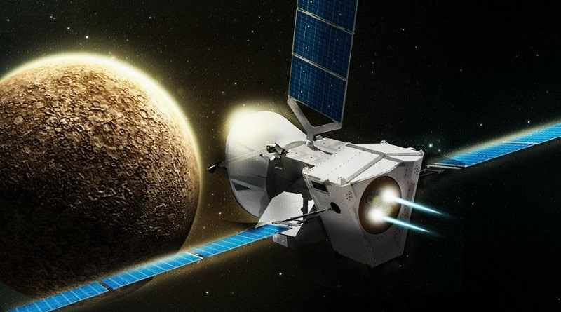 La sonda BepiColombo