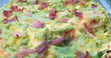 Lasagne con zucchine e speck