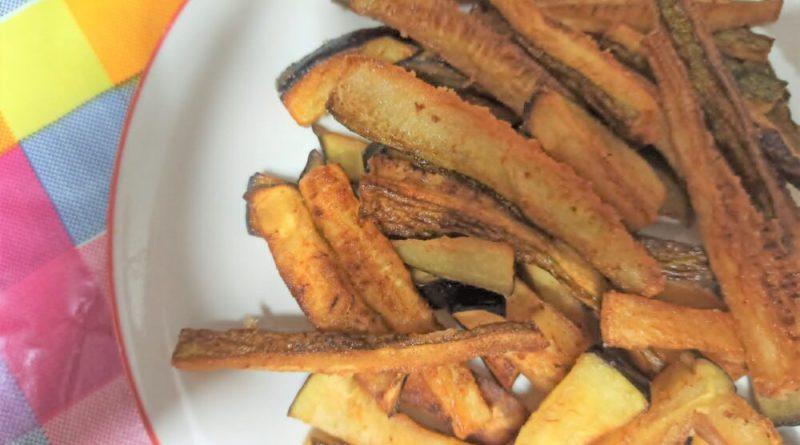 Bastoncini di zucchine e melanzene fritti