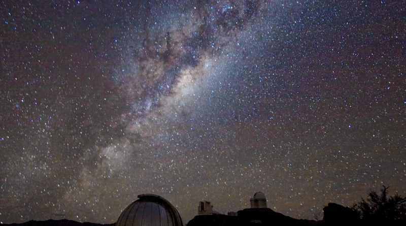 La Via Lattea vista dal Cile