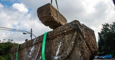 Israele: ritrovati due antichi sarcofaghi degli sposi in un parco naturale