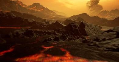 Gliese 486 b visto dalla superficie