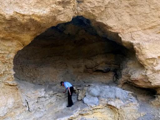 L'ingresso alla Grotta di Coxcatlan