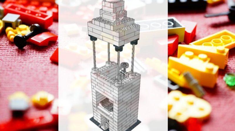 Microscopio in Lego
