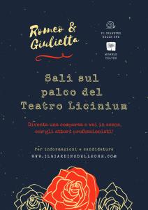 Romeo e Giulietta ad ArtiGiano 2021