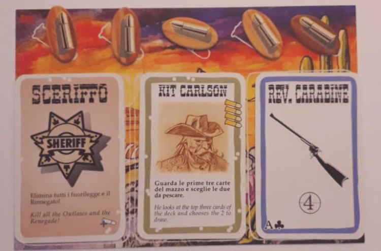 BANG! Il gioco di carte per chi ama le epiche sparatorie dei film western. 19