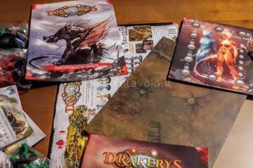 Il gioco da tavolo Drakerys - Di Orchi di Umani di Elfi e di Nani. E di DRAGHI. 1