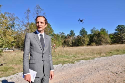 In Friuli il drone che controlla il confine 9