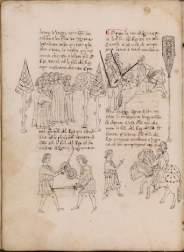 Ramon Lull, Llibre de les meravelles Catalogna, ultimo quarto del sec. XV Roma, Biblioteca dell'Accademia Nazionale dei Lincei e Corsiniana, 44 A 3 Foto © Accademia Nazionale dei Lincei