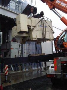 FASE REALIZZATIVA: installazione di una componente dell'impianto.