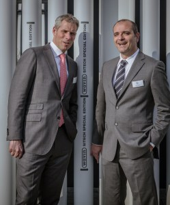 Maarten Roef, Presidente Wavin (sin.) ed Emilio Rigiroli, Country Director Wavin