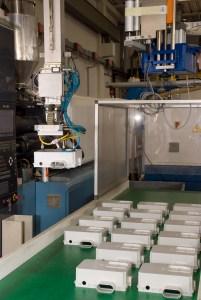 Il reparto produttivo altamente tecnologico di ZERO+ INNOVAZIONI a Castello di Godego (TV).