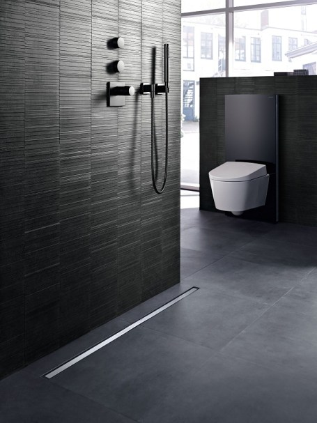 Geberit-Canaline per docce a pavimento CleanLine