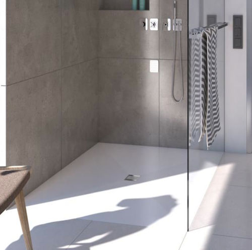 Piatto doccia filo pavimento in 6 mm robusto e impermeabile gt il giornale del termoidraulico - Piatto doccia pavimento ...