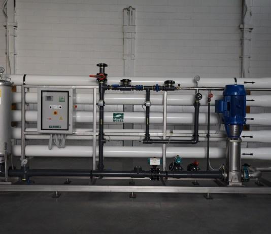 Impianto di trattamento per acqua