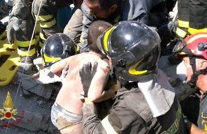 Terremoto Ischia, salvataggio Ciro Marmolo