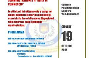 Giornata di studio a Casoria dedicata alla pubblica sicurezza